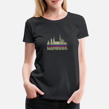 Neighborhood Hamburg City, Altona, St. Pauli Eimsbüttel - Women's Premium T-Shirt