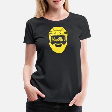 Playoff Playoffs! Yellow - Women's Premium T-Shirt