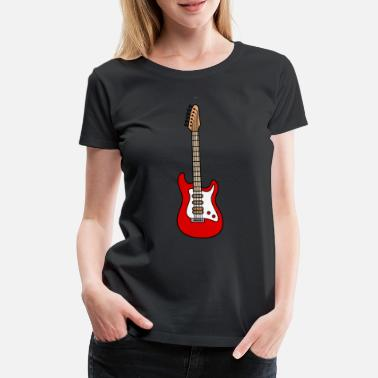 Electric Guitar Electric guitar electric guitar - Women's Premium T-Shirt