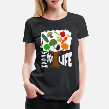 99f7263bc878c Organic Comic Vegan for Life Vegetable Gift Comic Vegan Organic -  Women's