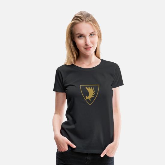 Damen T-Shirt OSTPREUßEN Schwarz//Weiss ostpreussen elchschaufel S bis XL