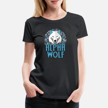 Scratch wolf - Women's Premium T-Shirt