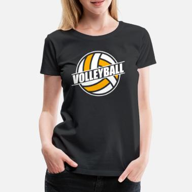 Équipe De Volley-ball Volley-ball volley-ball volley-ball équipe de volley-ball - T-shirt premium Femme