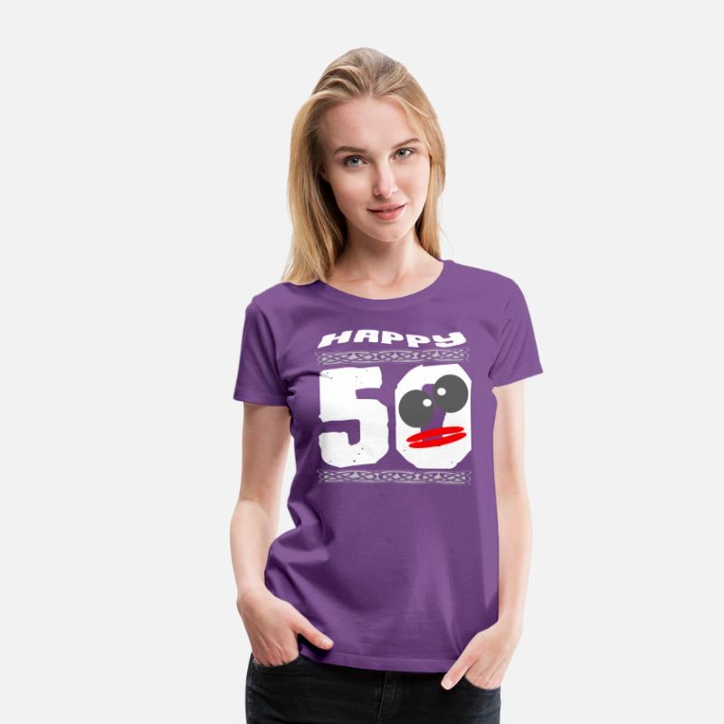 HAPPY 50th Birthday Womens Premium T Shirt