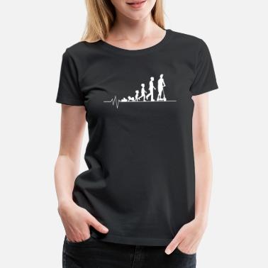 Batteri Evolution e-scooter - Premium T-shirt dam