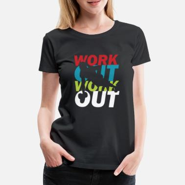 Motion Motion Gym - Premium T-shirt dame