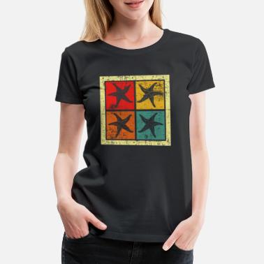 Sea Dweller starfish - Women's Premium T-Shirt