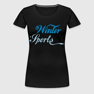 Winter Sports - Frauen Premium T-Shirt