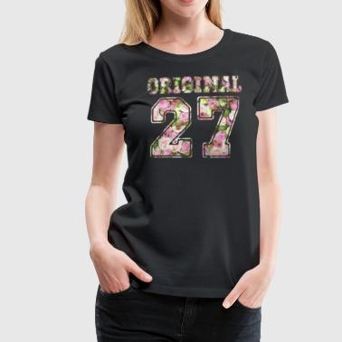 Original 27 - Frauen Premium T-Shirt