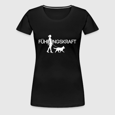 Führungskraft Medium Dog 1C - Frauen Premium T-Shirt