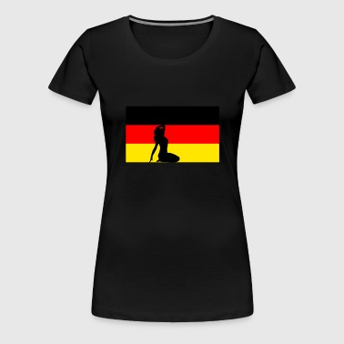 Sexy Germany - Women's Premium T-Shirt