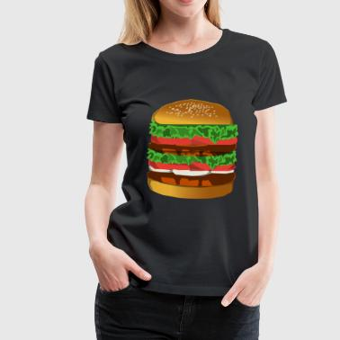 Hamburger - Frauen Premium T-Shirt