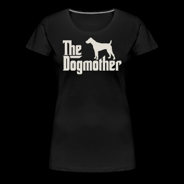 The Dogmother - Fox Terrier, Terrier - Women's Premium T-Shirt