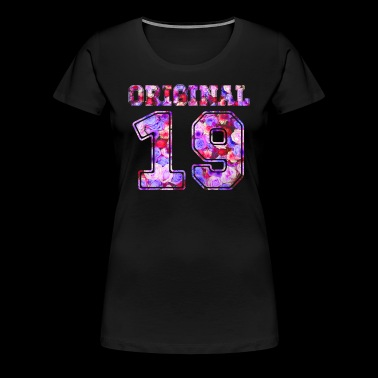 19 19. - Birthday Present Bday - Women's Premium T-Shirt