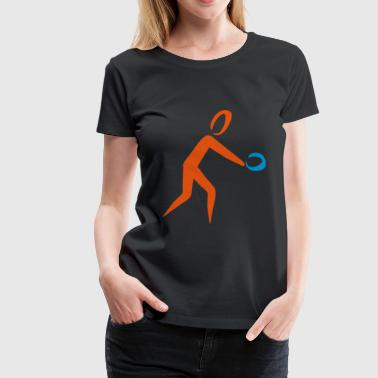 2541614 14383297 table tennis - Women's Premium T-Shirt