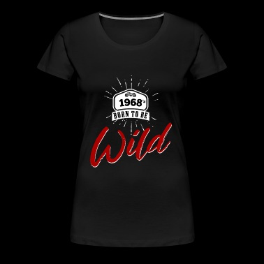 1968's born to be wild - Women's Premium T-Shirt