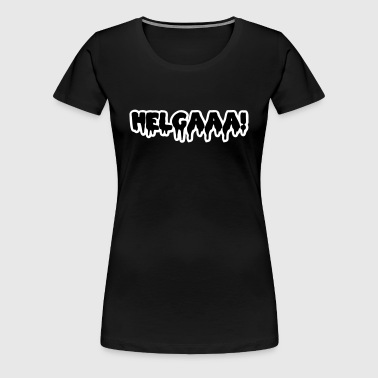 Helga - Festival Wacken Rock am Ring  - Frauen Premium T-Shirt