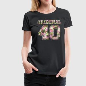 Original 40 - Women's Premium T-Shirt