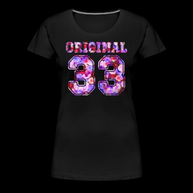 33 - Birthday Present Bday - Women's Premium T-Shirt