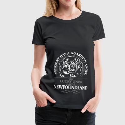 GUARDIAN ANGEL NEWFOUNDLAND - T-shirt Premium Femme