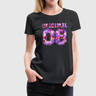 2008 Original 08 - Birthday Present Bday - Women's Premium T-Shirt