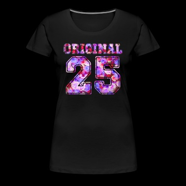 25 - Birthday Present Bday - Frauen Premium T-Shirt
