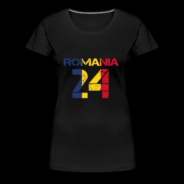 équipe club de football parti em wm ROUMANIE 24 - T-shirt Premium Femme
