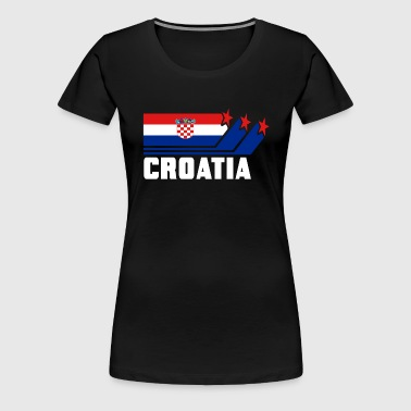 Croatia / Croatian flag / gift - Women's Premium T-Shirt