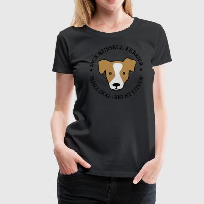 Jack Russell Terrier - Dame premium T-shirt
