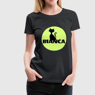 Bianca First name Name Christening Babyparty - Women's Premium T-Shirt