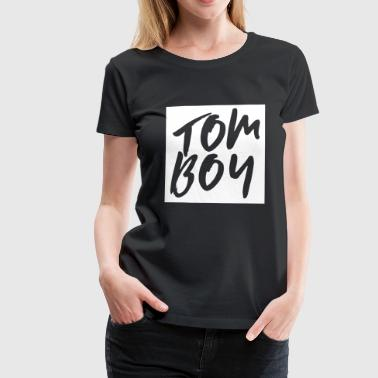 Tomboy | Queer LGBT design - Women's Premium T-Shirt