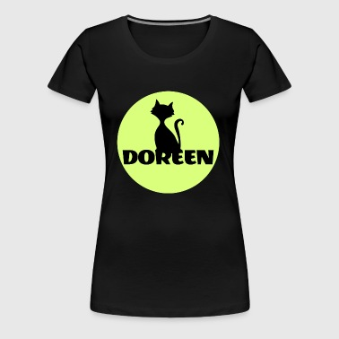 Doreen Name Vorname - Frauen Premium T-Shirt
