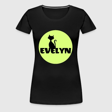 Evelyn Surname First name - Women's Premium T-Shirt