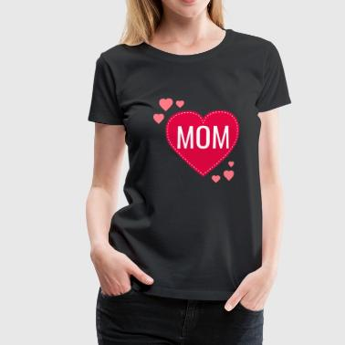 LOVE MOM - Women's Premium T-Shirt