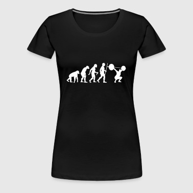 Evolution - Squat - Women's Premium T-Shirt