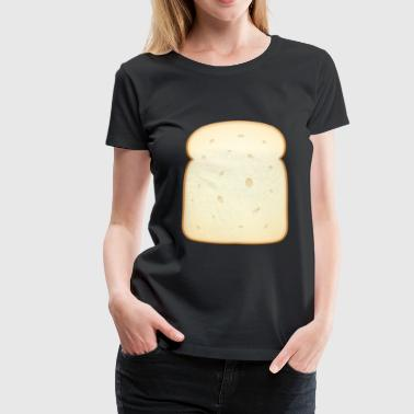 bread brooches crossaint bakery baguette bread bu - Women's Premium T-Shirt