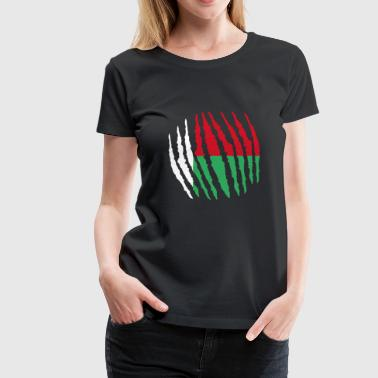 Claw Claw Homeland Origin Madagascar png - Women's Premium T-Shirt