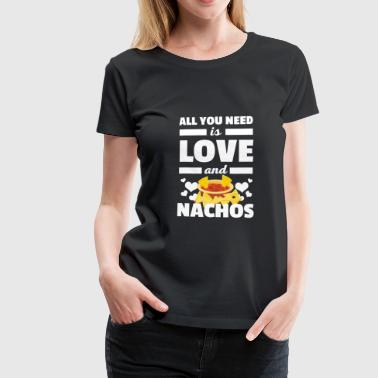 Cool All You Need è una t-shirt Love and Nachos - Maglietta Premium da donna
