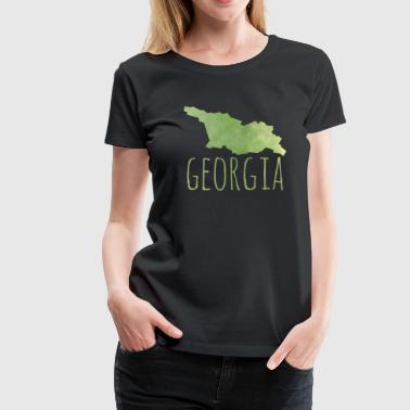 Georgia - Frauen Premium T-Shirt
