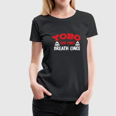 YOBO Swimming T-Shirt - Women's Premium T-Shirt
