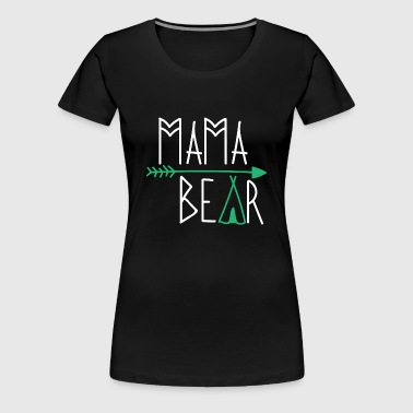 Mama Bear Women Ladies geschenk - Frauen Premium T-Shirt