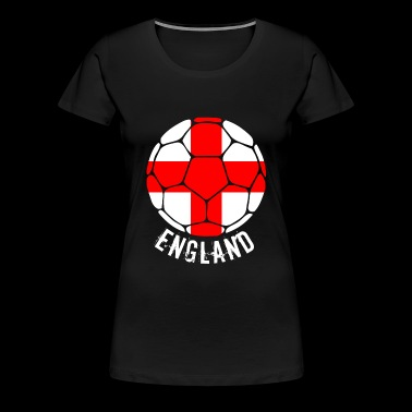 ENGLAND football fan - Women's Premium T-Shirt