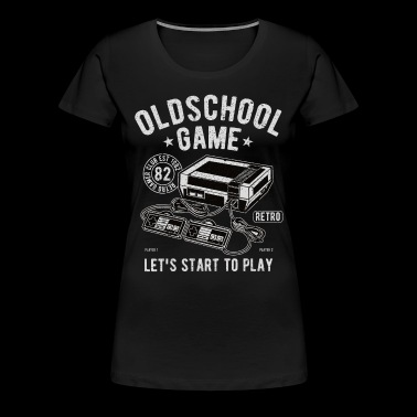 Oldschool Game - Video Game - Women's Premium T-Shirt