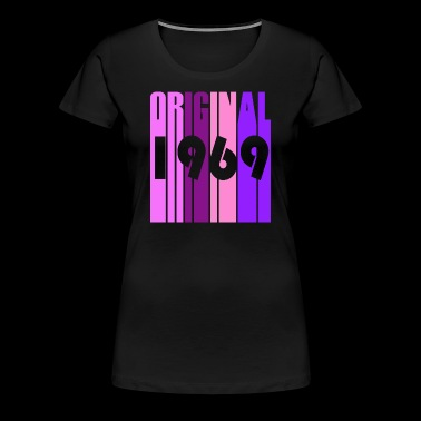 1969 birthday gift vintage - Women's Premium T-Shirt