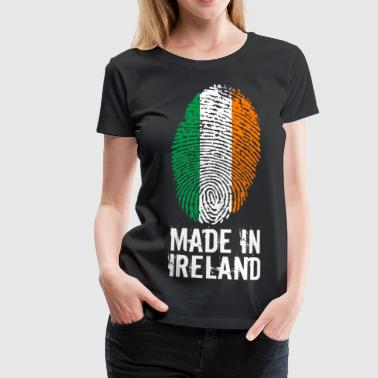 Made In Irland / Irland / Éire - Dame premium T-shirt