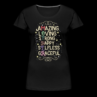 Mommy Loving Stark Happy Mother's Day Gift - Premium-T-shirt dam