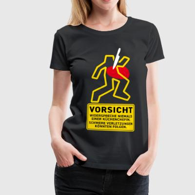 Attention chef - Women's Premium T-Shirt