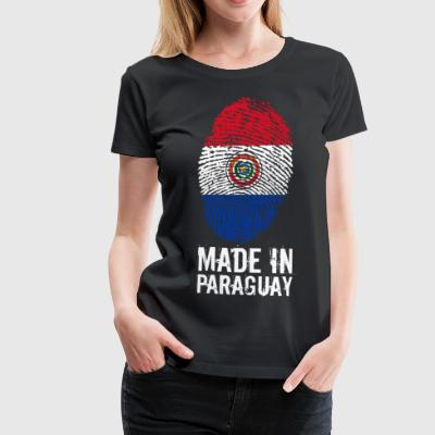 Made In Paraguay / Paraguay - Women's Premium T-Shirt