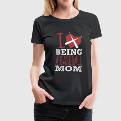 Baseball Mom Shirt - Frauen Premium T-Shirt