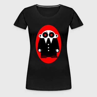 Nofi - the Vampire (Ellipse)  - Frauen Premium T-Shirt